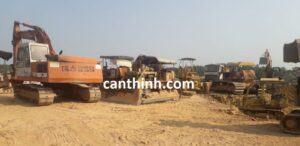 Chuyên cho thuê thiết bị cơ giới xe ủi, xe đào