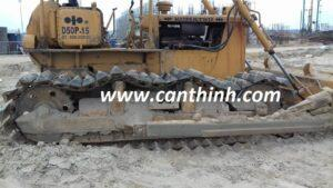 Máy ủi Làm cát tại Khu Liên Hợp Hòa Phát