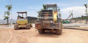 Xe công ty phục vụ cho Đất Xanh Group thuộc huyện Sơn Tịnh Quảng Ngãi